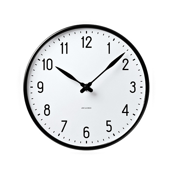 アルネ・ヤコブセン 【ROSENDAHL】 【ローゼンダール】 【クロック】 【送料無料】 【限定カラー】 【ROSENDAHL】 【置き時計】 【STATION】 【正規品】 【10P18Jun16】 【ステーション】 【smtb-k】 【ポイント10倍】 Arne Jacobsen / Table Clock STATION /43674