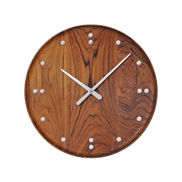 Finn Juhl/フィン・ユール Wood Wall Clock/フィンユール(Finn Juhl)