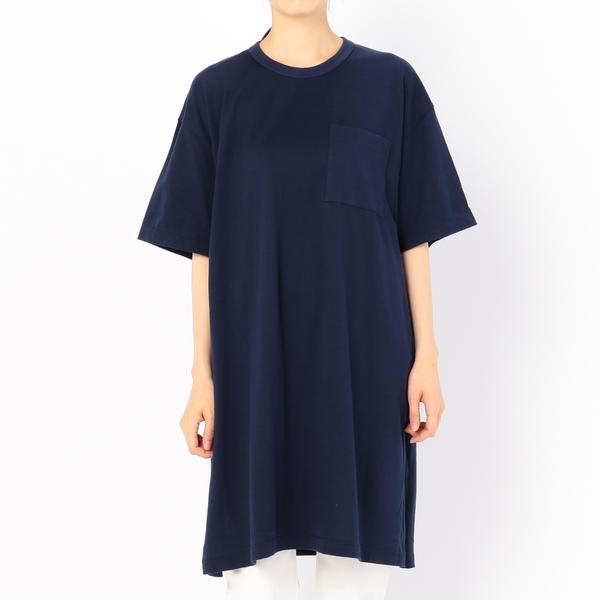 【ORCIVAL】オーバーサイズ ビッグTシャツ SO / WOMEN/ビショップ(レディース)(Bshop)