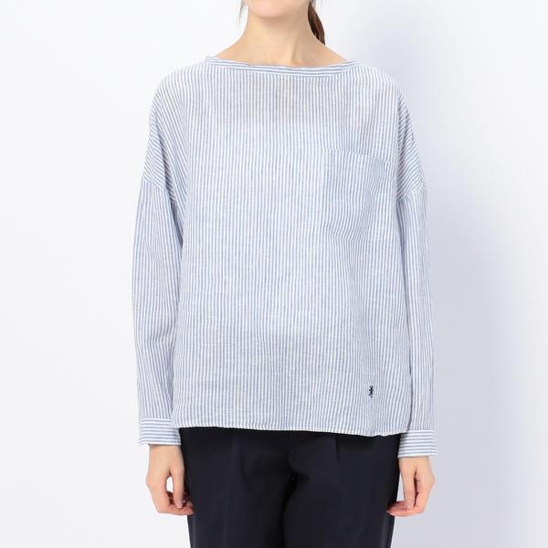 【Gymphlex】リネンプルオーバーシャツ LNP WOMEN/ビショップ(レディース)(Bshop)