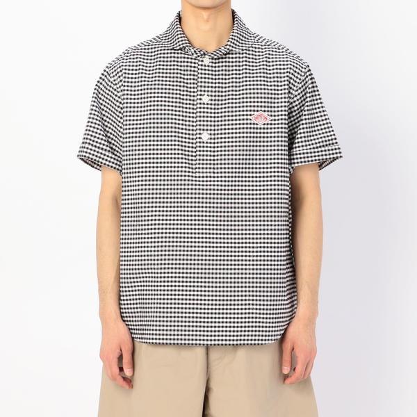 【DANTON】半袖プルオーバーワークシャツ TRD MEN/ビショップ(メンズ)(Bshop)