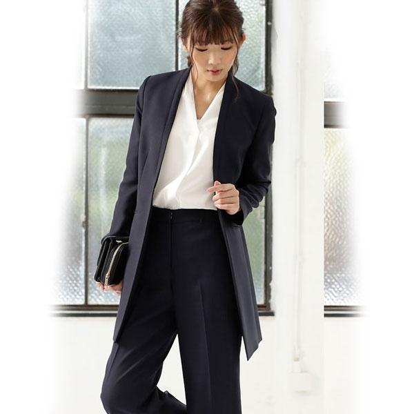 【WEB限定】スタイリッシュハンサムレディ3点セットスーツ/リュリュ(RyuRyu)