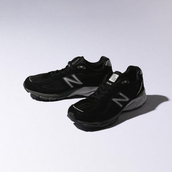 <New Balance (ニューバランス)> M990BK4 BLACK/スニーカー/ビューティ&ユース ユナイテッドアローズ(メンズ)(BEAUTY&YOUTH)