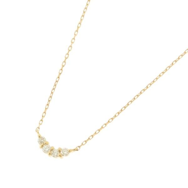 アクセ類(K18ダイヤモンド Uネックレス)/ココシュニック(COCOSHNIK)
