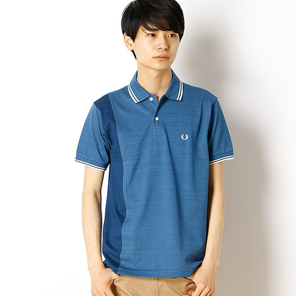 【18SS】ANEL PIQUE SHIRT/フレッドペリー(メンズ)(FRED PERRY)