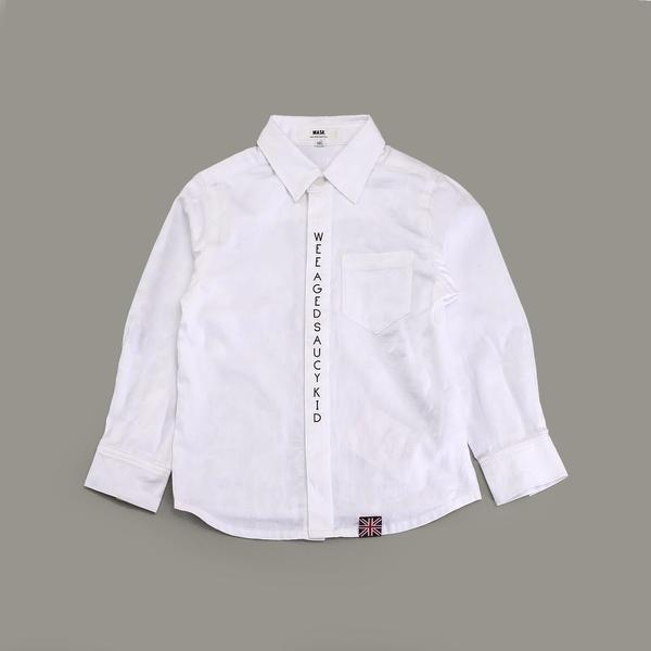 迷彩ジャガードブロードシャツ(150cm)/ワスク(WASK)
