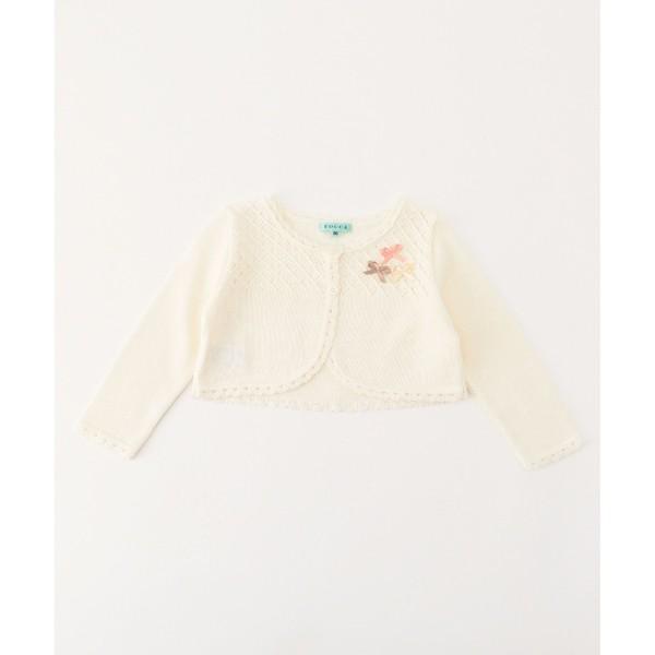 【BABY】Crochet Ribbon カーディガン/トッカ バンビーニ(TOCCA BAMBINI)