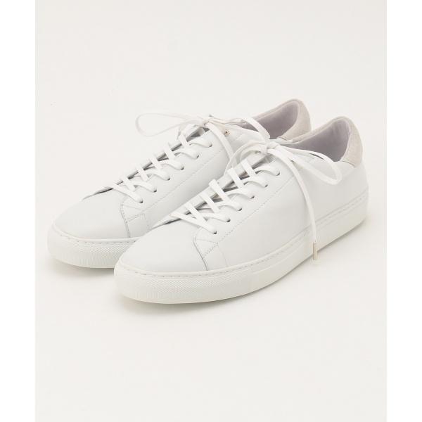 【再入荷】smooth leather sneaker スニーカー/ジョゼフ オム(JOSEPH HOMME)