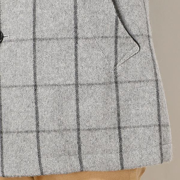 シャギーウィンドペンスタンドカラーコート ライナー着脱可能メンズメルローズ MEN'S MELROSEnyN80vmwO