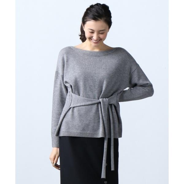 【梅春新作】Soft Wool Middle ウエストコンシャス ニット/アイシービー L(ICB L)