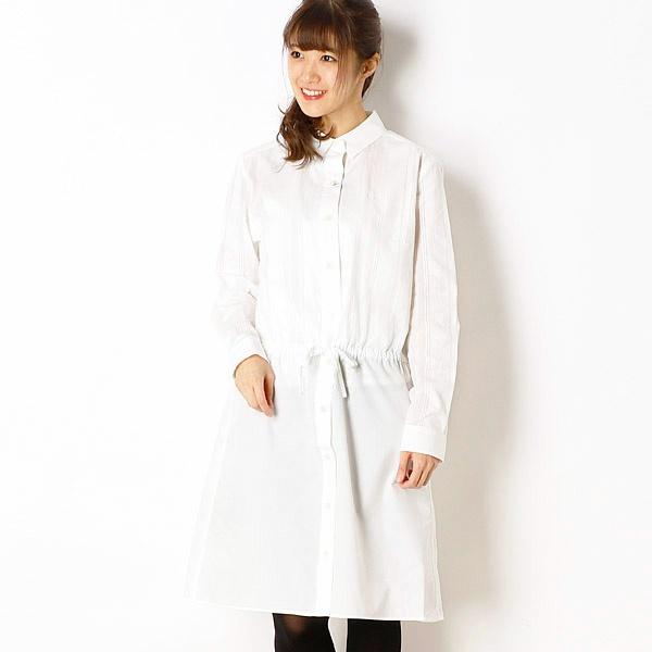 【18SS】STRIPED PANEL SHIRT DRESS/フレッドペリー(レディス)(FRED PERRY)