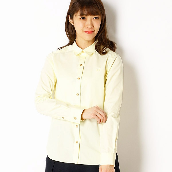 【18SS】WOVEN SHIRT/フレッドペリー(レディス)(FRED PERRY)