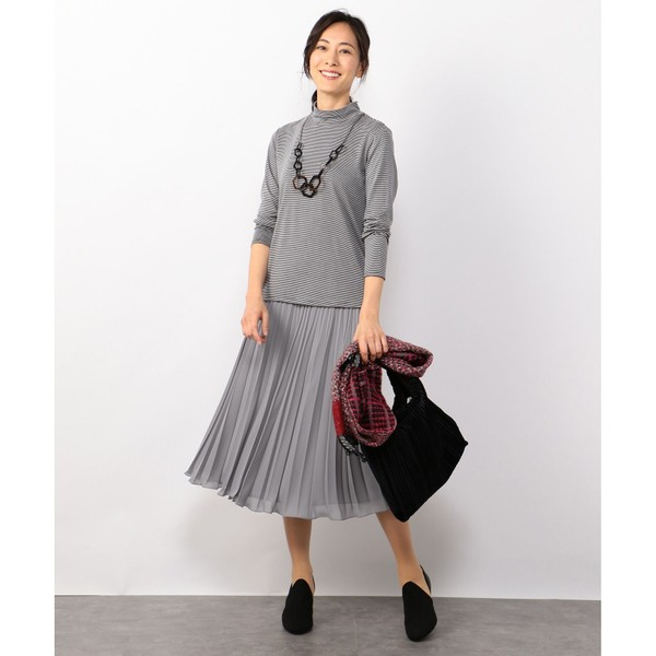【定番新カラー】ミクロキャロット プリーツスカート/ジェーン モア(JANE MORE)
