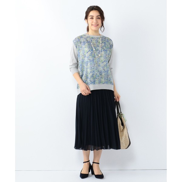 【定番新カラー】ミクロキャロット プリーツスカート/ジェーン モア L(JANE MORE L)