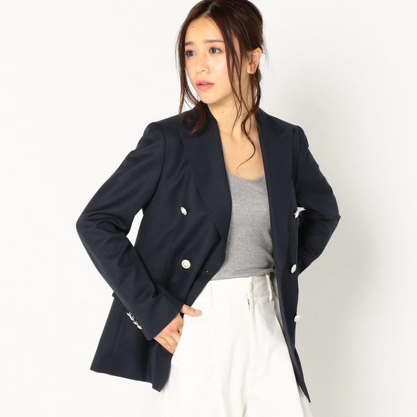 PrimaryNavyLabel:ダブルジャケット/シップス(レディース)(SHIPS for women)