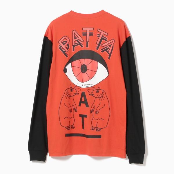 Tee/ ビームス PATTA / Asia Tour Long Sleeve (BEAMS)