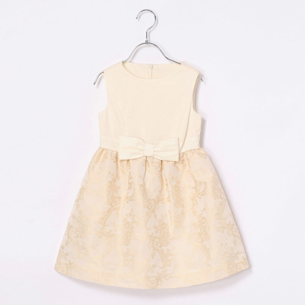 フラワージャガードドレス/コムサフィユ(COMME CA FILLE)