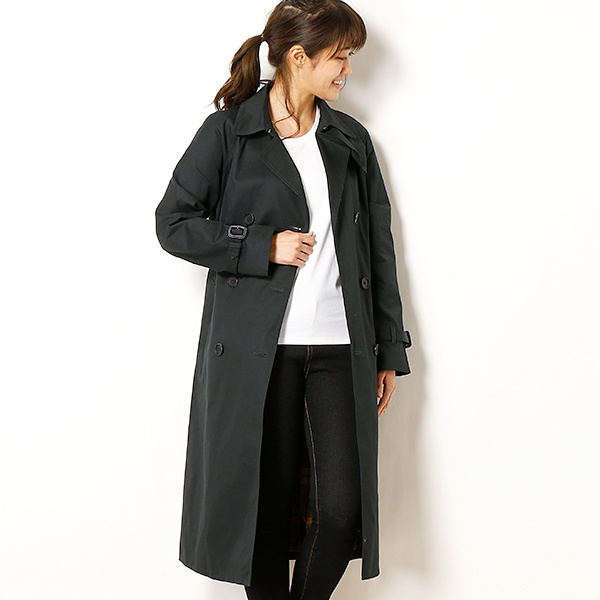 【18SS】TRENCH COAT/フレッドペリー(レディス)(FRED PERRY)