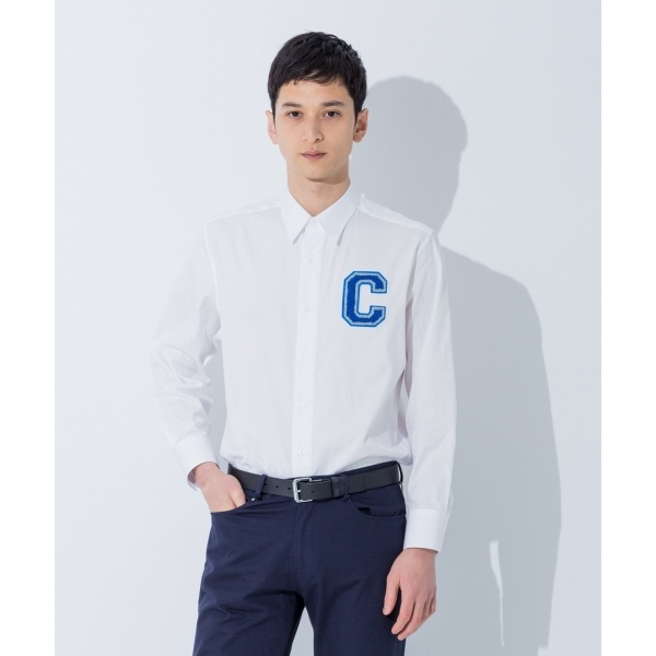 【大人気ロゴシリーズ】ストラクチュアルオックスフォード シャツ/カルバン・クライン メン(Calvin Klein men), 【気質アップ】 46013fc7