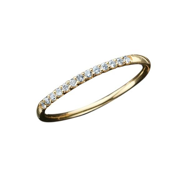 K10 イエローゴールド ダイヤモンド リング/エステール(ESTELLE)