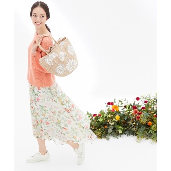 プリンシーズガーデンプリント スカート/自由区(JIYUKU)