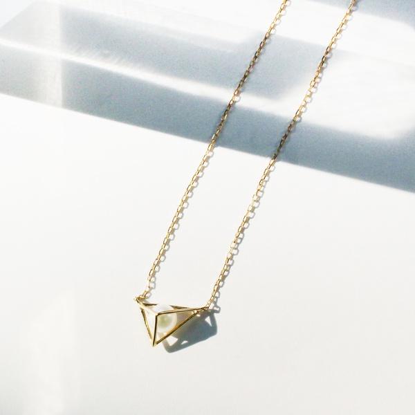 tetrahedron pearlネックレス/ジュピター(JUPITER)