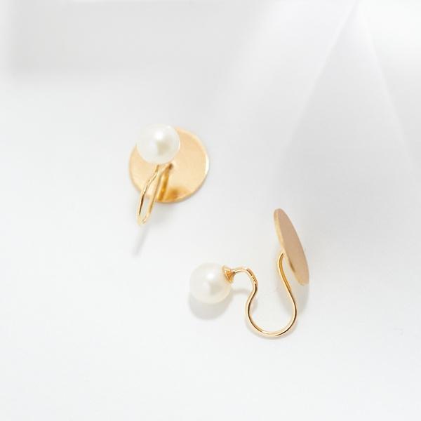 pearl and diskイヤリング/ジュピター(JUPITER)