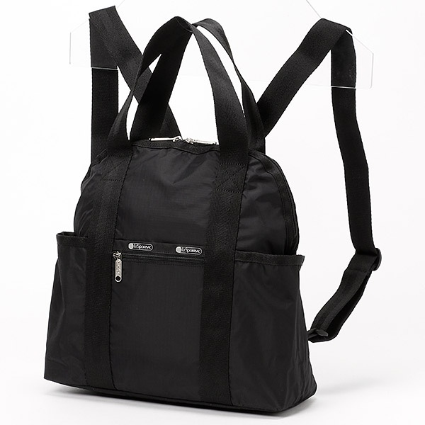 DOUBLE TROUBLE BACKPACK/オニキス/レスポートサック(LeSportsac)