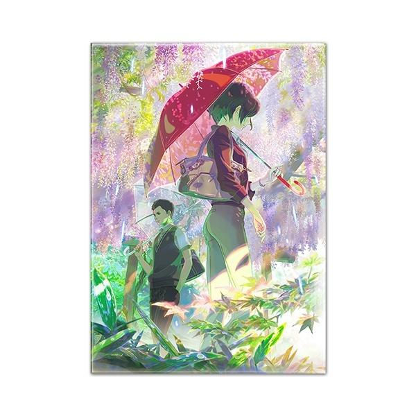 【言の葉の庭】藤棚/キャラファインアクリル/キャラアート(CHARA-ART)