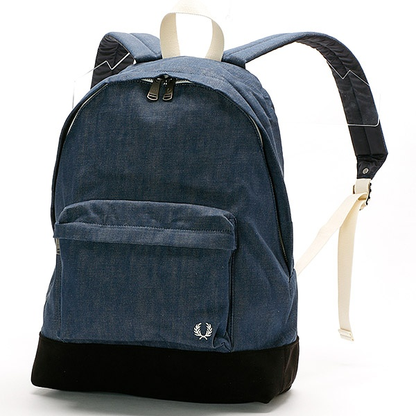 【18SS】DENIM BACKPACK/フレッドペリー(雑貨)(FRED PERRY)