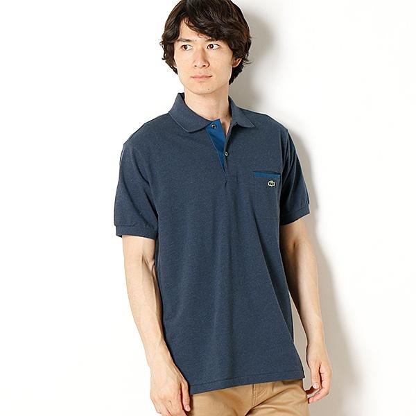 ラコステ 胸ポケットポロシャツ(半袖)/ラコステ(LACOSTE)