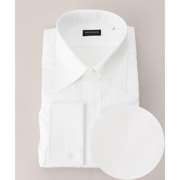 【フォーマル & ビジネス】ダブルカフス ドレスシャツ レギュラー/五大陸(gotairiku)