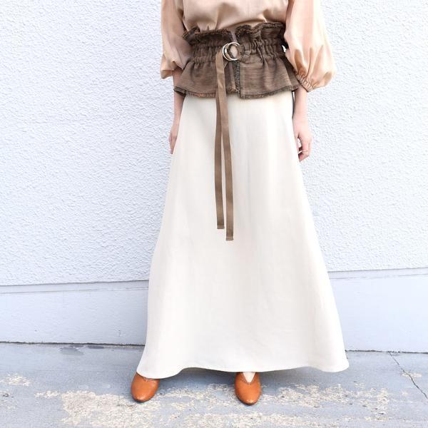 muller of yoshiokubo:【SHIPS別注】サンドマキシスカート  ◆/シップス(レディース)(SHIPS for women)