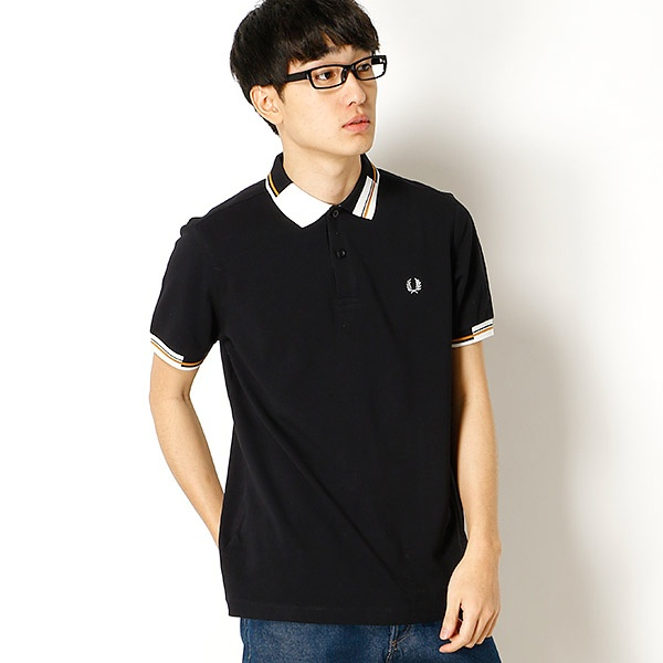 【18SS】ABSTRACT TIPPED PIQUE SHIRT/フレッドペリー(メンズ)(FRED PERRY)