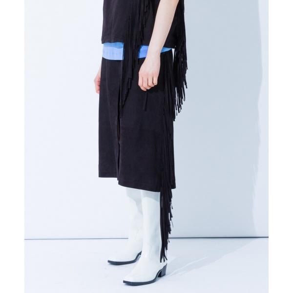【2018SS】ウルトラスエード スカート/カルバン・クライン ウィメン(Calvin Klein women)