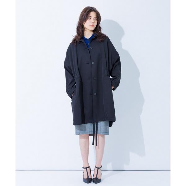 【2018SS】シャイニーツイル モッズコート/カルバン・クライン ウィメン(Calvin Klein women)