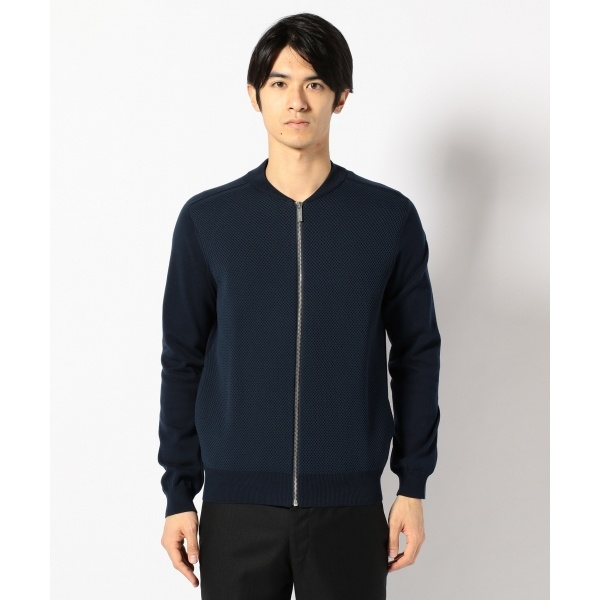 T/Cテクニカルメッシュブルゾン ニット/カルバン・クライン メン(Calvin Klein men)