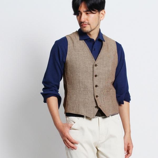 MTシャツ(【Product Notes Japan】コンビネーションベスト)/タケオキクチ(TAKEO KIKUCHI)