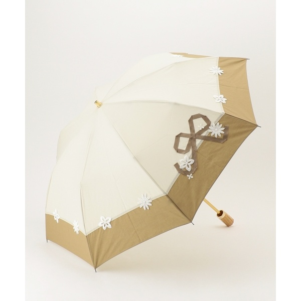 【晴雨兼用】LACE RIBBON PARASOL 折りたたみ傘/トッカ(TOCCA)