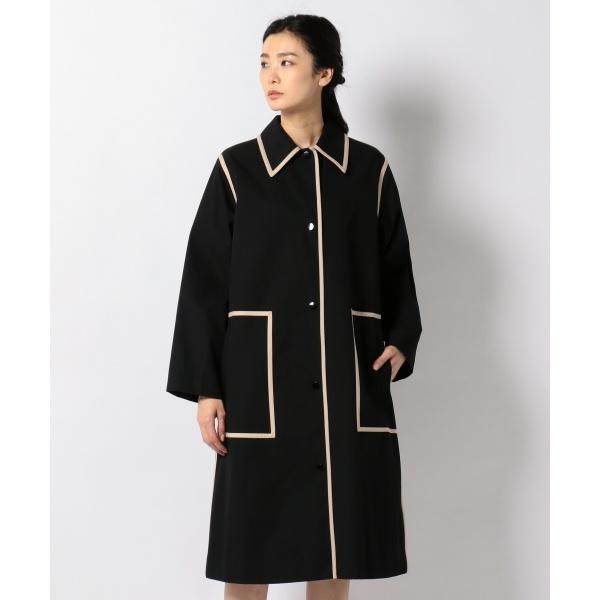 【春のおすすめコート】コットントレンチ ステンカラーコート/カルバン・クライン ウィメン(Calvin Klein women)
