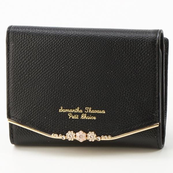 フラワーバー金具シリーズ 折財布