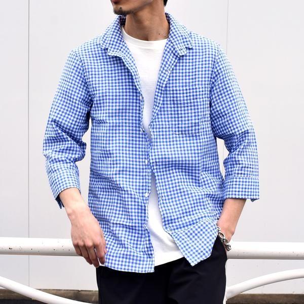 SU: 【COOL MAX】リネンシャツ ワイヤー 7スリーブ/シップス(メンズ)(SHIPS)
