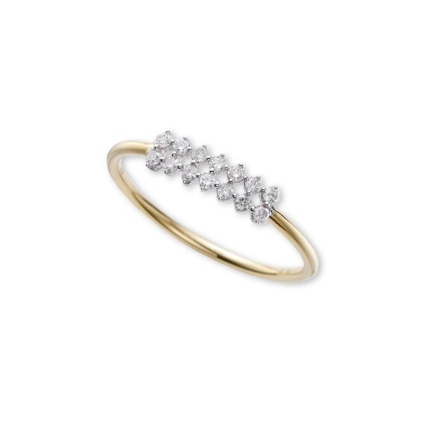 K18YG ダイヤリング Luxurious タイムレスワンズ Timeless Ones クからトレドまで幅広いアイテムを提案! 売れ行き好調 成人の日 EW-FA13-Mおゆうぎ会 割引 敬老の日