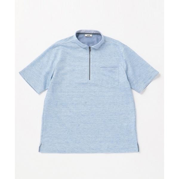 【キングサイズ】リネンTOPコードレーン ポロシャツ/ジョセフ アブード(JOSEPH ABBOUD)