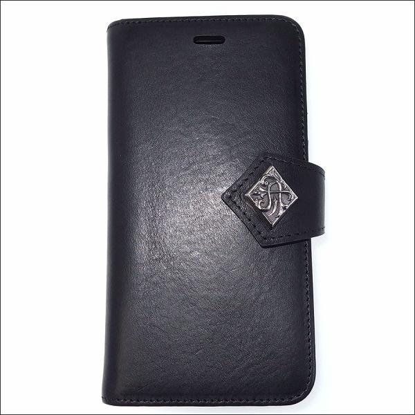 本革イタリアンレザーiPhone8ブックケース/アルテミスクラシック(Artemis Classic)