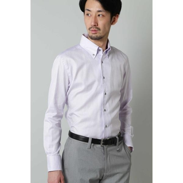 HIGH STREET∴千鳥JQワンピースBDシャツ/ハイストリート(HIGH STREET)