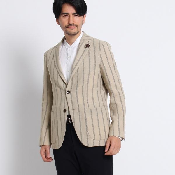 Mジャケッ(砂子縞柄シングルジャケット[ メンズ ジャケット ])/タケオキクチ(TAKEO KIKUCHI)