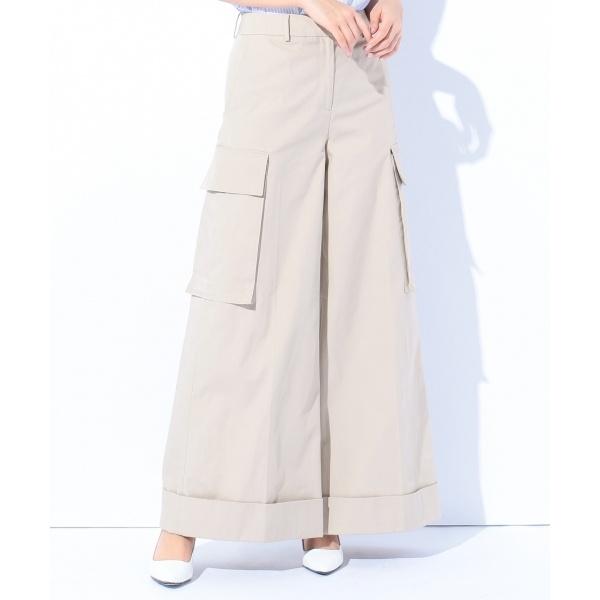 【2018SS】コットントレンチ ワイドパンツ/カルバン・クライン ウィメン(Calvin Klein women)