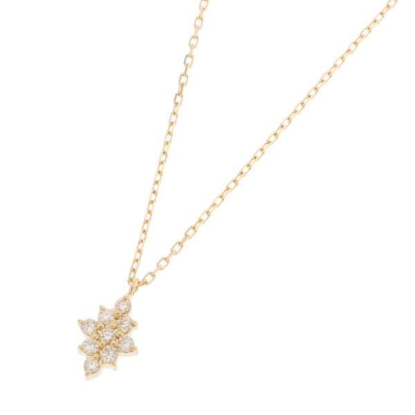 K18ダイヤモンド菱形クラスターネックレス/ココシュニック(COCOSHNIK)