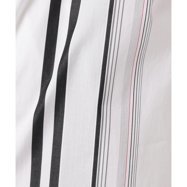 【洗える】 Placement シャツワンピース/ アイシービー (ICB) Stripe